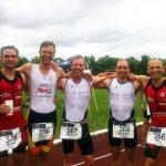 vo.li.: Moritz, Mirco, Norman, Andi und Uwe