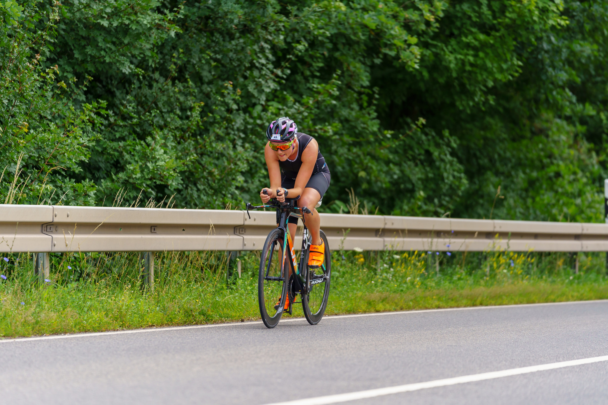 Annika Timm beim Nonstop Triathlon Bamberg 2019